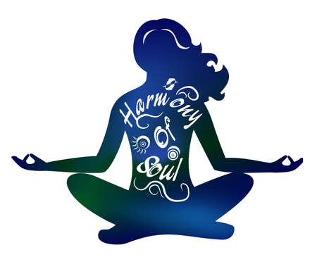 the illustration on the theme of the meditation.