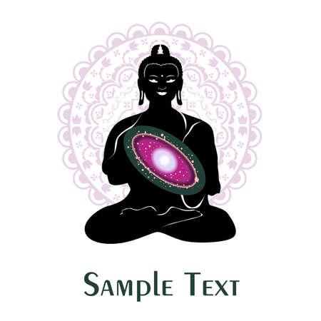 buddha and the universe