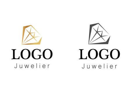 theme of jewelry and diamonds Illustration
