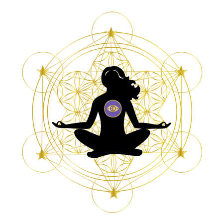 Illustration on the theme of the meditation.