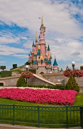 Parigi, Agosto 2010:Sleeping Beauty Castle- Disneyland Resort Paris