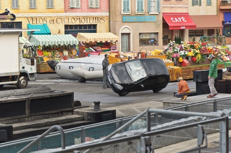 Paris - Disney Studios, 08, 13, 2010 - Moteurs Action Stunt Show Spectacular