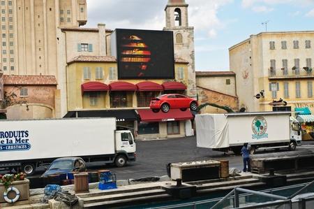 Paris - Disney Studios, 08, 13, 2010 - Moteurs Action Stunt Show Spectacular