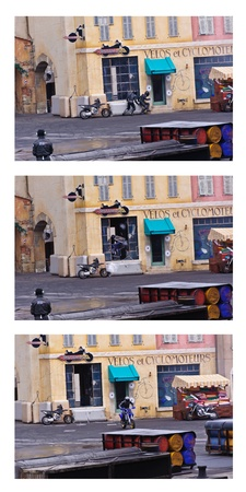 firmeza: Paris - Disney Studios, 08, 13, 2010 - Acción Moteurs Stunt Show Espectacular
