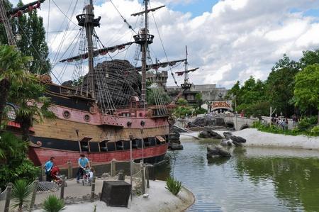 Disneyland Paris, August, 14, 2010 - Pirates of the Caribbean