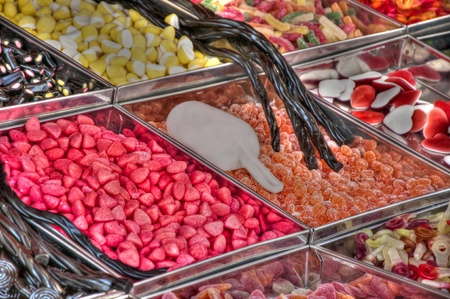 Juicy and taste candy Stock Photo