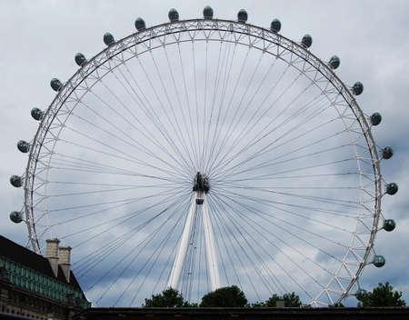The London Eye in London 報道画像