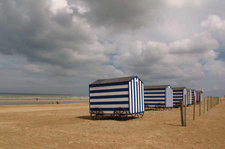 cabana: Cabanas on the Belgian beach