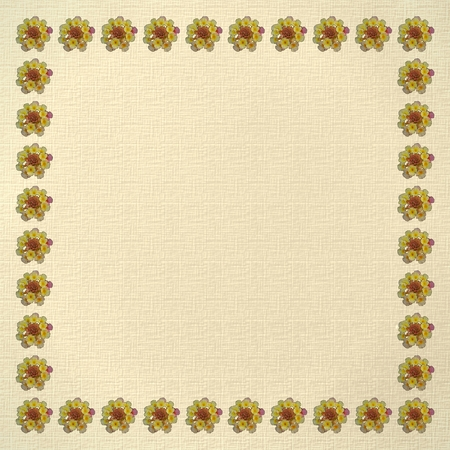 Border or background or texture or pattern - Flowers - Floral