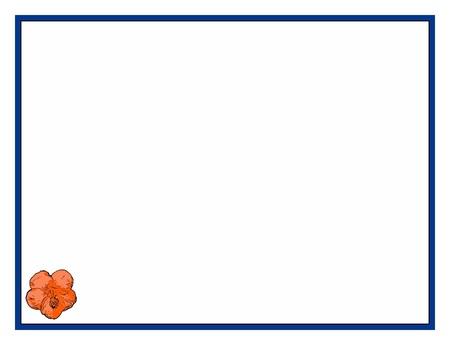 Background, border or texture - Flower - Hibiscus - Orange Stock fotó