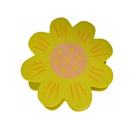 Preacher in sunflower format - Wooden preacher in sunflower format