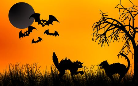Halloween night  Standard-Bild
