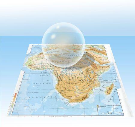 transparent sphere Stock Photo - 5746272