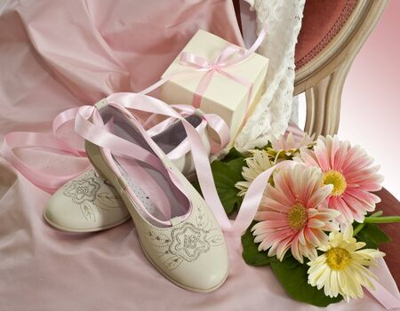 wedding favors: dress  , Shoes, and wedding favors first communion