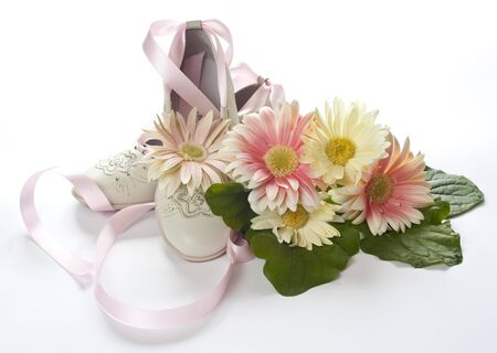 Shoes, and wedding favors first communion photo