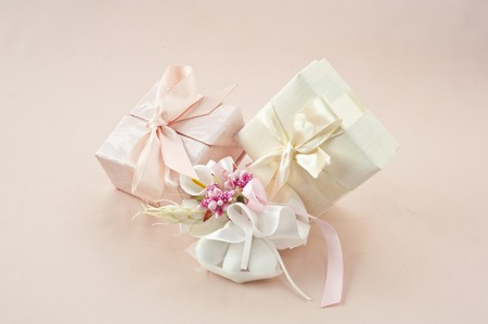 material to make favors for weddings, communions and baptisms Stock Photo - 7075306