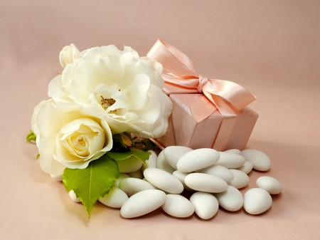 material to make favors for weddings, communions and baptisms Stock Photo - 7099505