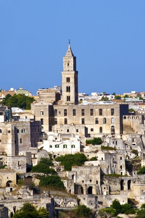 matera: The beautiful town of Matera in Italy