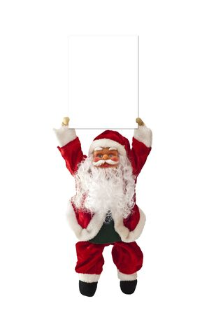a doll of Santa Claus on a white background Stock Photo - 7839778