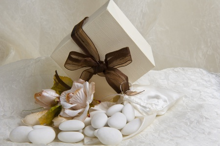 weeding Favors and wedding rings and bands for weddings and holidays photo