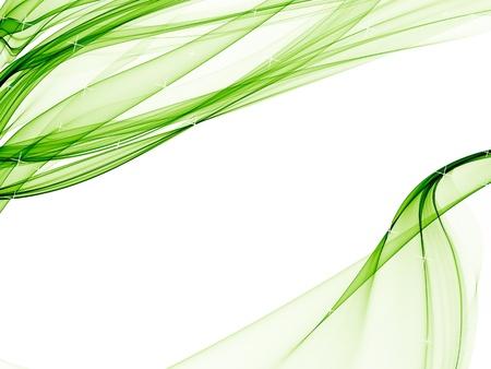 elegant white background with soft green designs