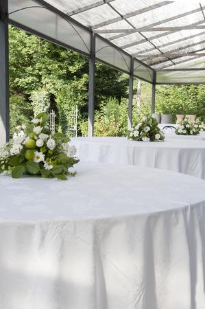 a wedding table