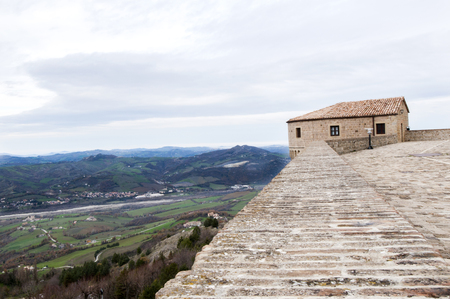 a medieval castle home to the torture museum in Tuscany