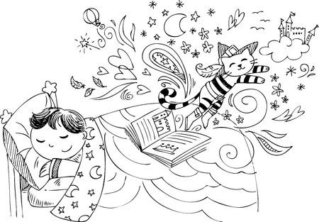 Dibujos Para Colorear De Ninos Durmiendo En La Cama Bebé Durmiendo