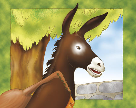 grimm: Donkey with balalaika from Bremen town musicians folktale