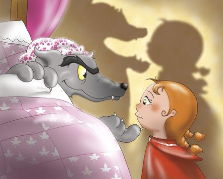 caperucita roja: Caperucita Roja y el lobo de máscaras