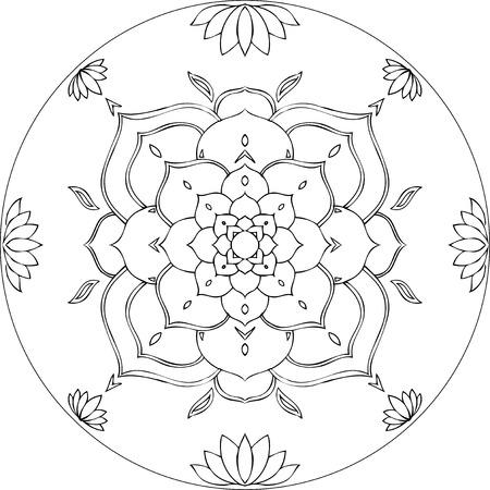 oneness: Lotus flower Sri Amma Bhagavan Diksha mandala