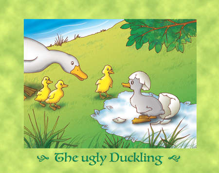 ugly duckling: The ugly duckling 2 the birth and mother duck