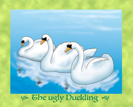duckling: The ugly duckling 16: meeting three beautiful swans