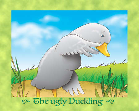 ugly duckling: The ugly duckling 7 sadness and tears