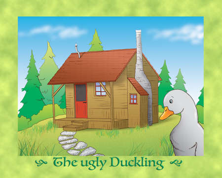 the ugly: The ugly duckling 13 escaping and finding the old cabin