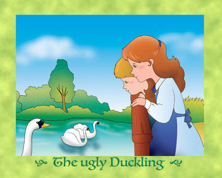 the ugly: The ugly duckling 24: all loves the swan