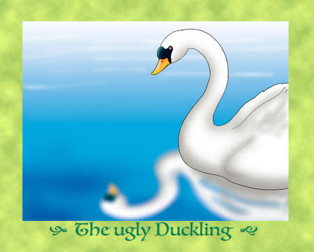 ugly duckling: The ugly duckling recognizes himself as a swan