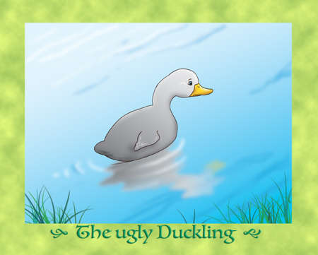the ugly: The ugly duckling