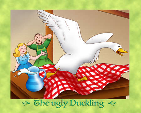 the ugly: The ugly duckling mess in a new house