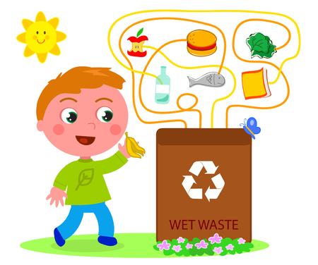organic waste: Wet waste recycling game