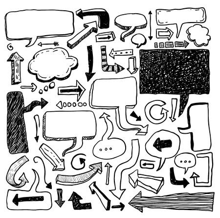 speech bubbles illustration.