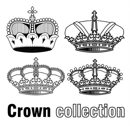 crown tail: crown set