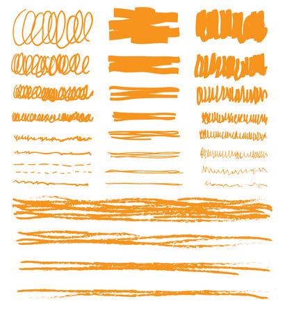 underline: hand drawn underline illustration.