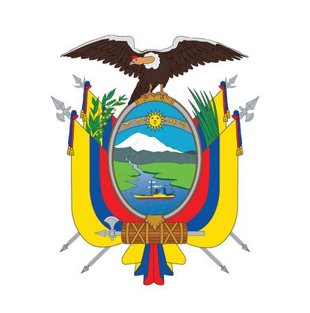 ecuador: symbol of Ecuador, vector illustration Stock Illustratie