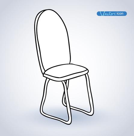 chair vector: