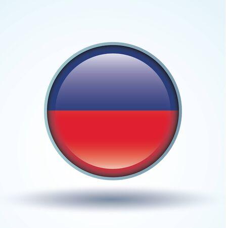 haiti: Flag of Haiti, vector illustration Illustration
