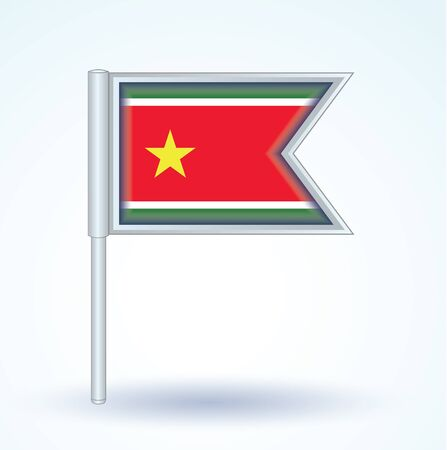 guadeloupe: Flag of Guadeloupe, vector illustration