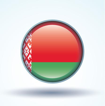 belarus: Flag of Belarus, vector illustration