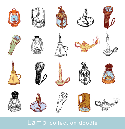 alladin: lantern icon - vector illustration Illustration