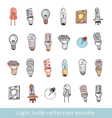 Fluorescent Light Bulb icon - vector illustration